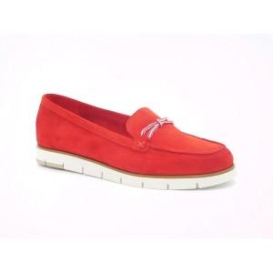 Pantofi piele intoarsa femei - 8368 ZFR