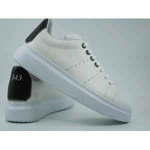 Pantofi piele barbati-2020 Str.alb