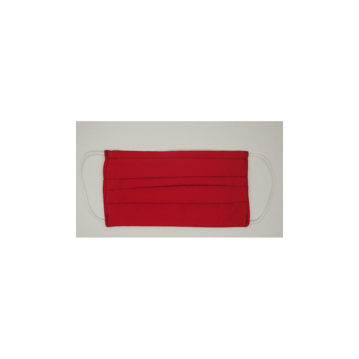 Masca prot.fashion,lavabila-MA001RE Red-set 5 buc.