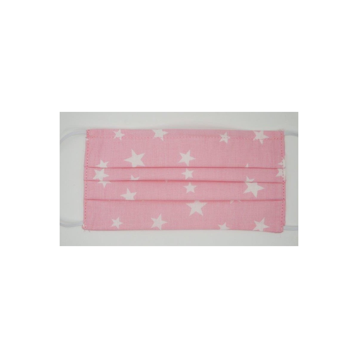 Masca protectie,lavabila - set 5 buc.MAFS340 PINK/WH.STARS