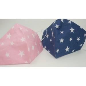 MAFSS3804 Pink/WH.STARS-set 5 buc.