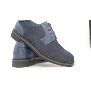 Pantofi jeans/piele barbati-1097 35 ALY